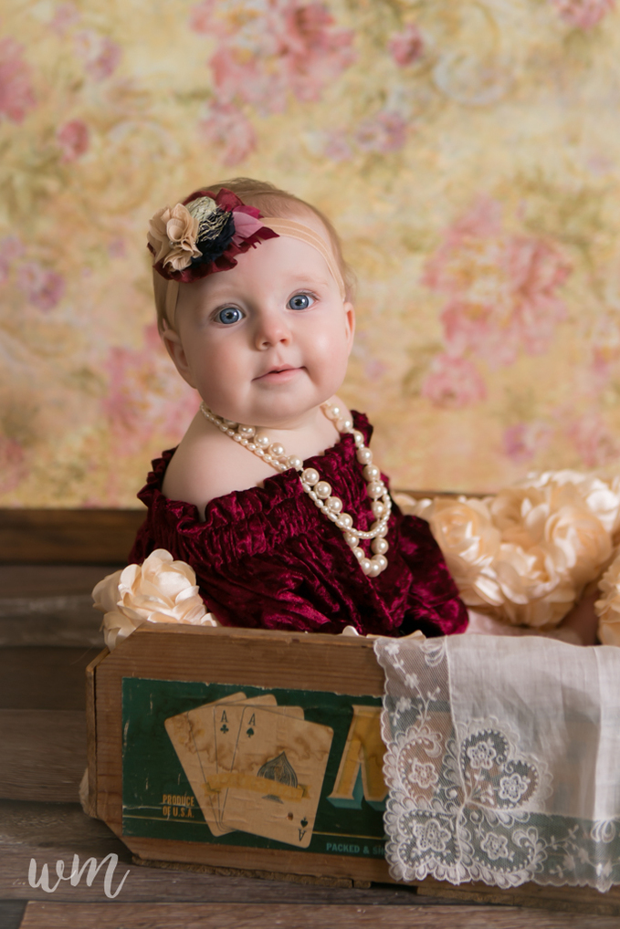 d16207d2fa8e 6 Month Old Leah » Whitney Miller Photography
